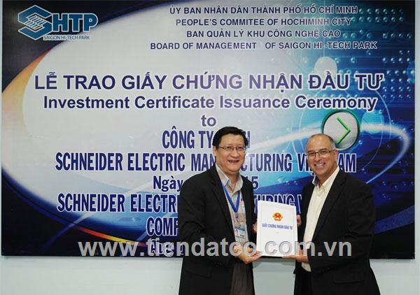 SCHNEIDER ELECTRIC đầu tư xây dựng nhà máy mới hiện đại tại Khu công nghệ cao Sài Gòn